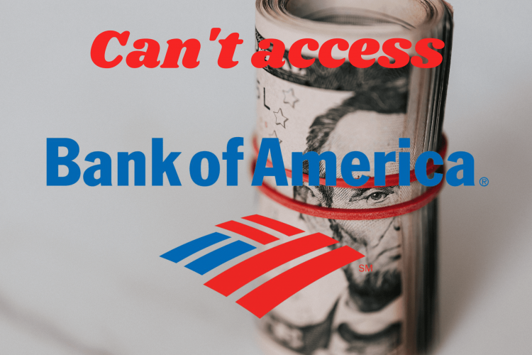 FIX Can't access Bank of America